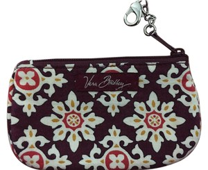 Vera Bradley Vera Bradley Medallion Clip Zip ID Coin Change Purse Case