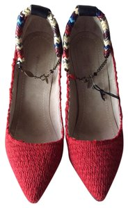 Isabel Marant Heel RED Pumps