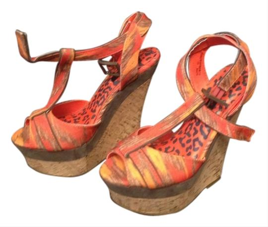 Dollhouse Summer Multi Wedges Image 0