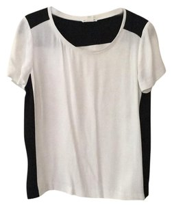 Club Monaco Top White and black