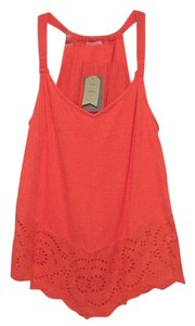Anthropologie Top Tangerine