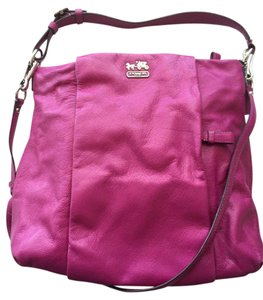Coach Leather Covertible Hobo Bag