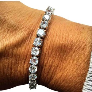 Ladies 14ct AAA CZ Platinum plated tennis bracelet 14ct Tennis Bracelet