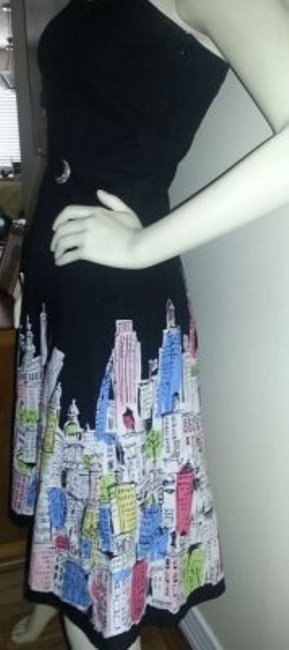 Kelly & Diane Hand Made Boutique Nyc Fit Flare Party Dress