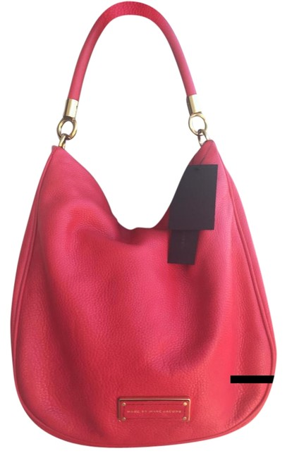 Item - Hot To Handle Red Leather Hobo Bag