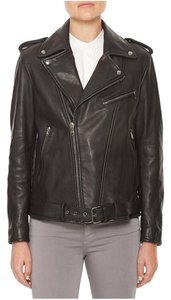 AG Adriano Goldschmied Leather Jacket