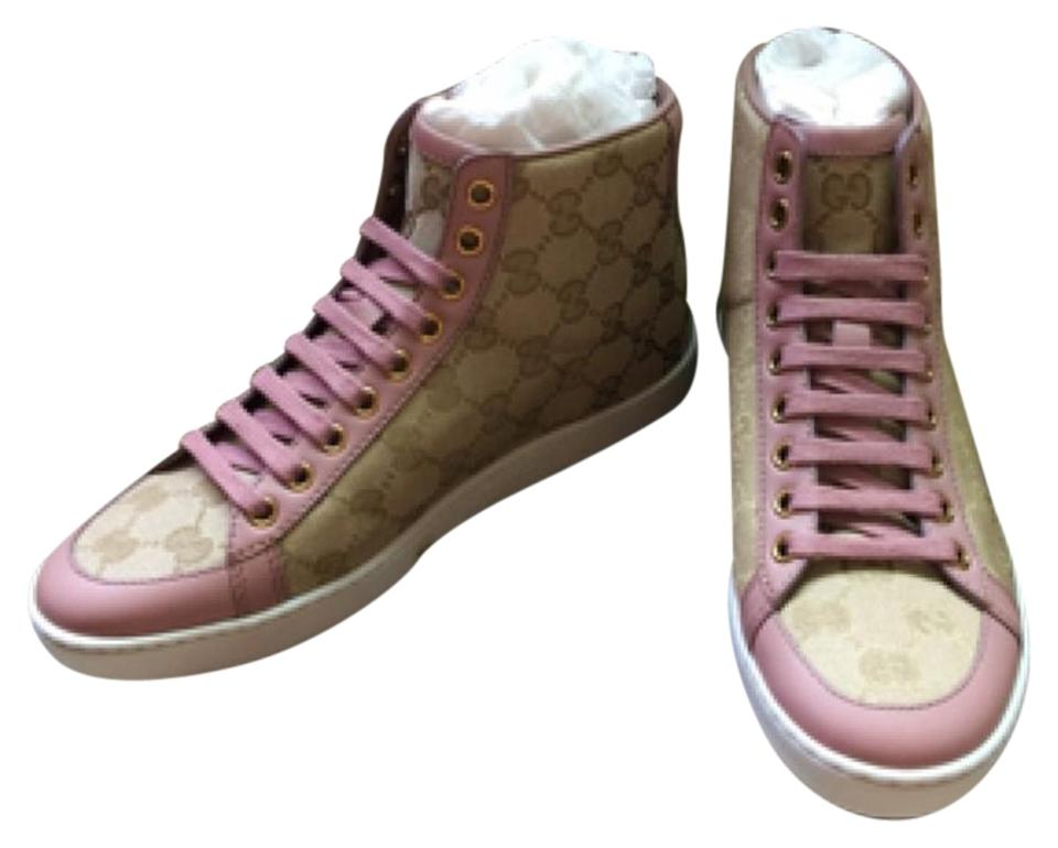 ca82ff32bf0 Gucci Women s Tian High-top Sneaker 5.5. Come with Box   Dustbag Retail +  Tax Sneakers