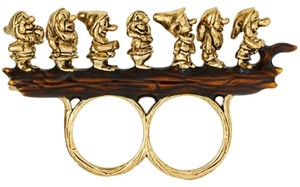 Disney Disney Couture snow white Seven Dwarves Double Finger Ring