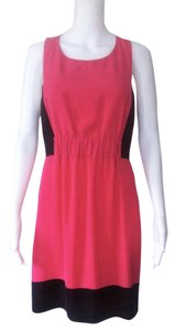 Rachel Roy short dress Peachy-Pink and Black on Tradesy