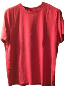Lands' End T Shirt Fuchsia