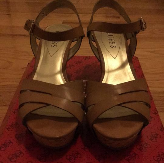 Guess Taupe Wedges Image 2