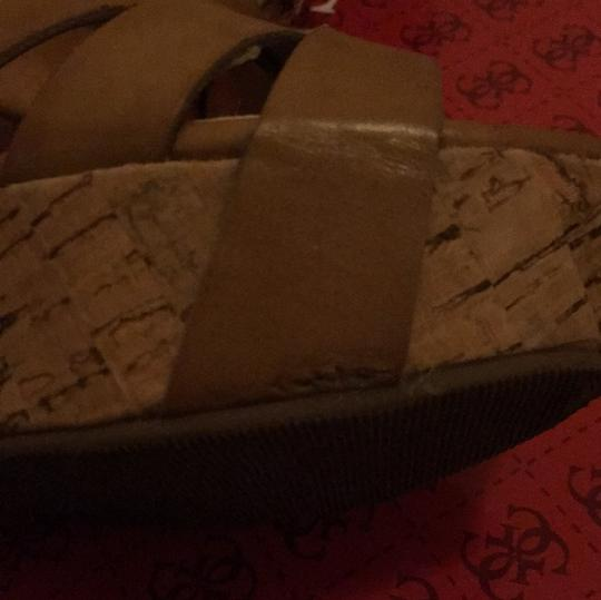 Guess Taupe Wedges Image 6