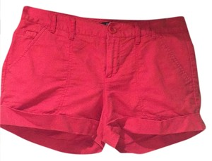 Gap Cuffed Shorts Coral