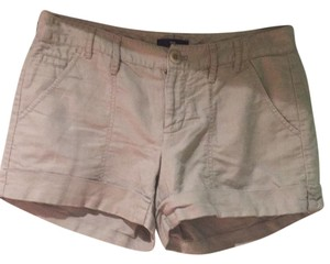 Gap Cuffed Shorts Khaki
