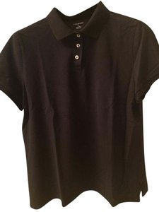 Lands' End T Shirt Black