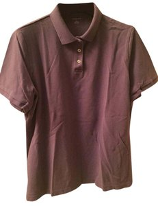 Lands' End T Shirt Purple
