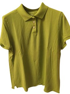 Lands' End T Shirt Green