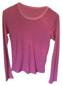 Michael Stars Thermal Reversible T Shirt Pink