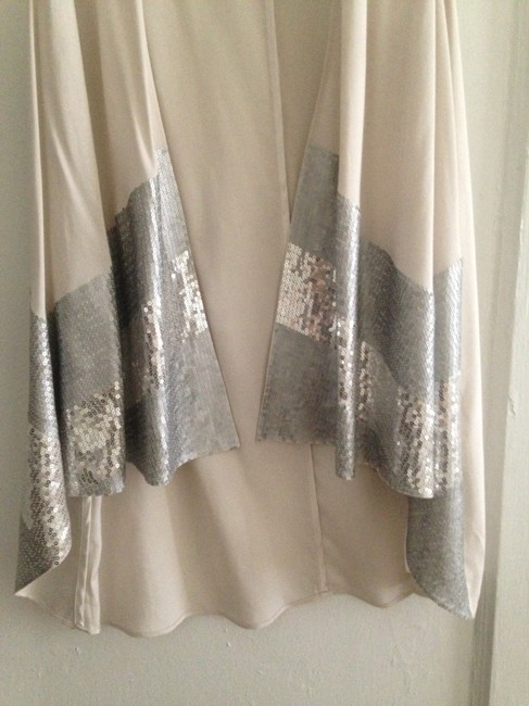 A|X Armani Exchange Sequin Vest Pretty Night Out Dressy Tunic Image 4