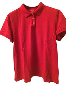 Lands' End T Shirt Red