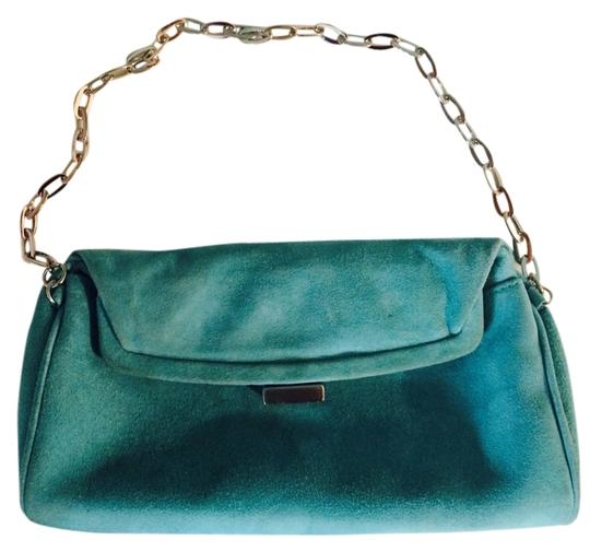 Preload https://img-static.tradesy.com/item/1607418/kenneth-cole-suede-cute-back-teal-wristlet-0-0-540-540.jpg
