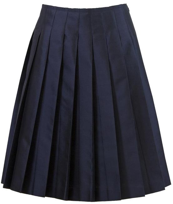 Preload https://img-static.tradesy.com/item/16074451/prada-blue-navy-silk-midi-skirt-size-6-s-28-0-1-650-650.jpg
