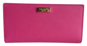 Kate Spade Newbury Lane Stacy Bifold Sweetheart Pink Leather Wallet