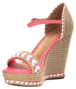 Antonio Melani Natural/Pink Wedges