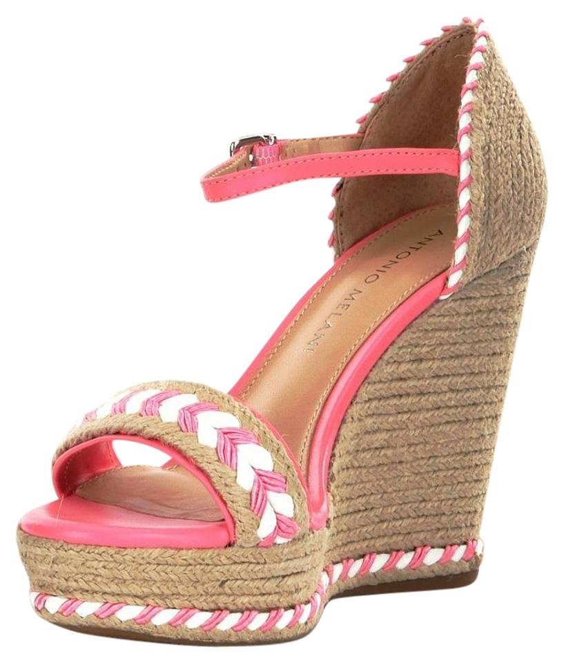 4c9425cc2011 Antonio Melani Natural Pink Wedges. Size  US 10 Regular (M ...