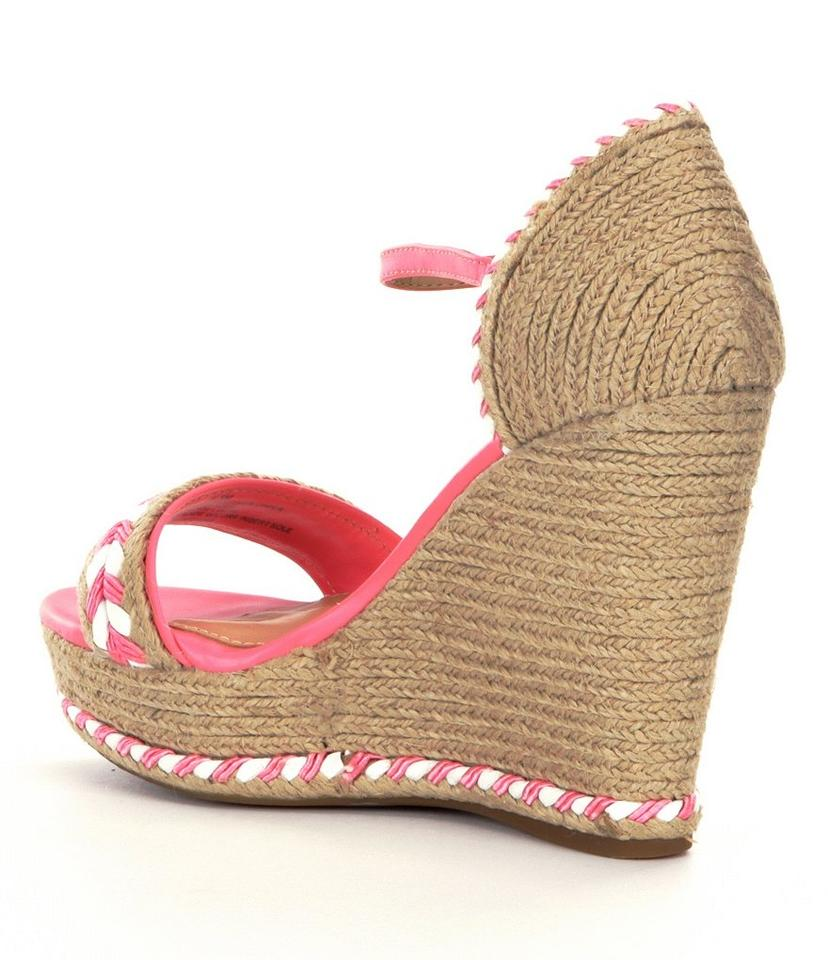 b23770300fc9 Antonio Melani Natural Pink Wedges Size US 10 Regular (M