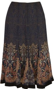 Elie Tahari Skirt Navy/Brown
