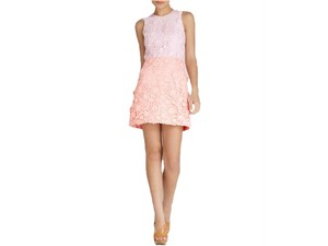 Cynthia Rowley short dress Soft Pink/Coral on Tradesy
