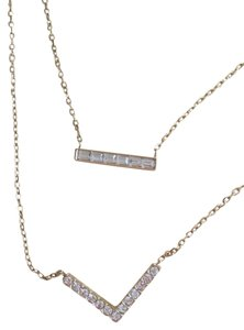 Michael Kors MICHAEL KORS GREAT DUAL CHAINS AND GLITZ CHARM NECKLACE MKJ5168710