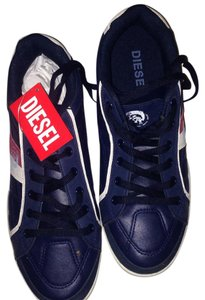 Diesel Navy red white Athletic