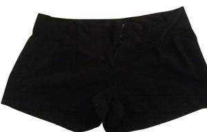Express Cuffed Buttoned Pockets Mini/Short Shorts Black