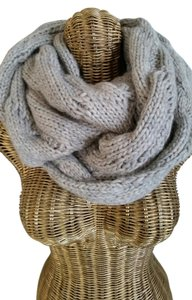 Saks Fifth Avenue Super Soft & Lux Cable Knit Oatmeal Infinity Scarf