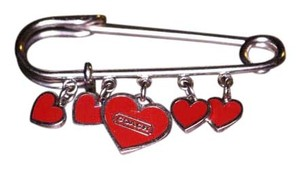 Coach Coach Heart Pin
