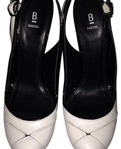 Bakers Black and white Pumps