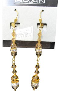Giavan Giavan (E-8) Swarovski Crystal Earrings HOL573e