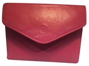 Jennifer Moore Jennifer Moore Pink Leather Wallet