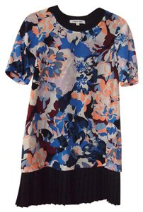Elizabeth and James short dress Floral Tunic Ruffle on Tradesy