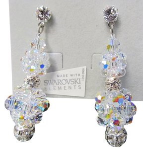 Giavan Iridescent Rock Candy Earrings HOL231e (e-9)