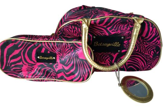 Betsey Johnson 2 Piece Cosmetic Bag