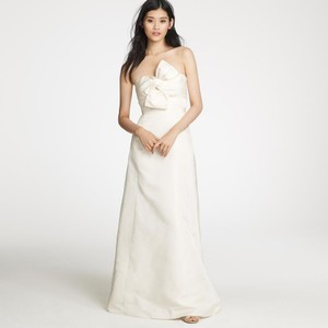 J.Crew Bow Monde Wedding Dress