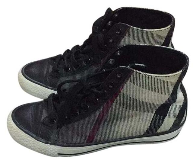 Item - Black Grey White High Top Sneakers Size US 6 Regular (M, B)