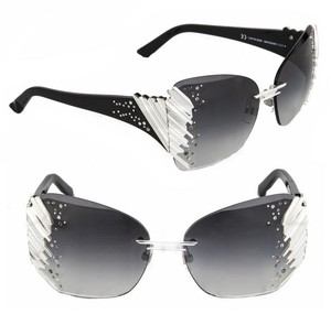 Swarovski Daniel Swarovski Crystal Sunglasses Limited Edition Couture Black