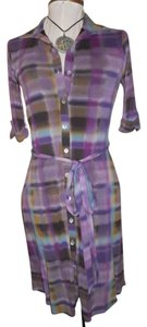 Weston Wear short dress purple multi on Tradesy