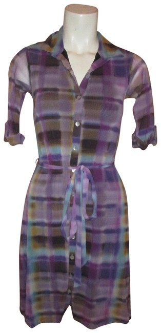 Preload https://item1.tradesy.com/images/weston-wear-purple-multi-short-workoffice-dress-size-2-xs-160785-0-2.jpg?width=400&height=650