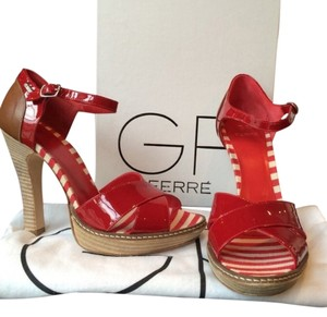 Gianfranco Ferre Red Sandals