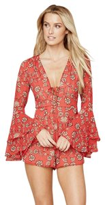 For Love & Lemons Boho Bellsleeve Longsleeve Dress